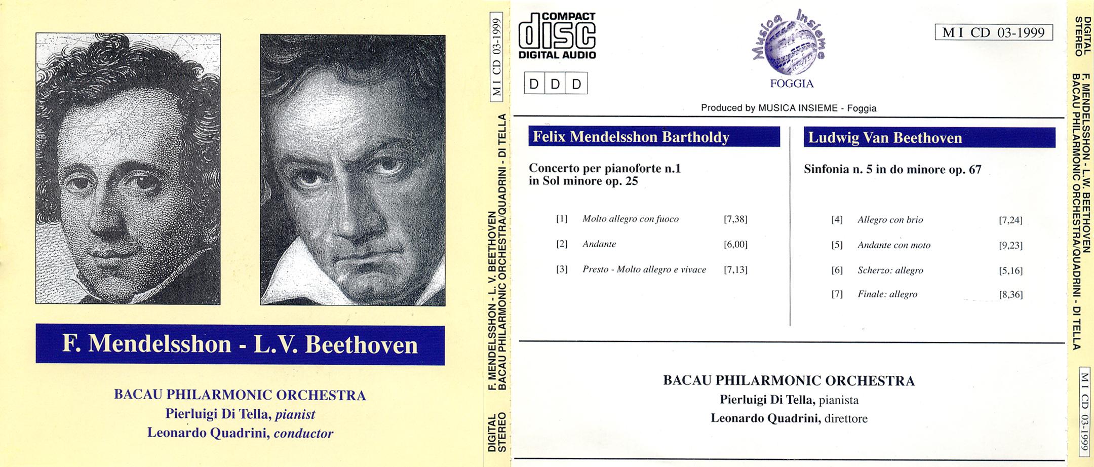 Mendelsshon e Beethoven