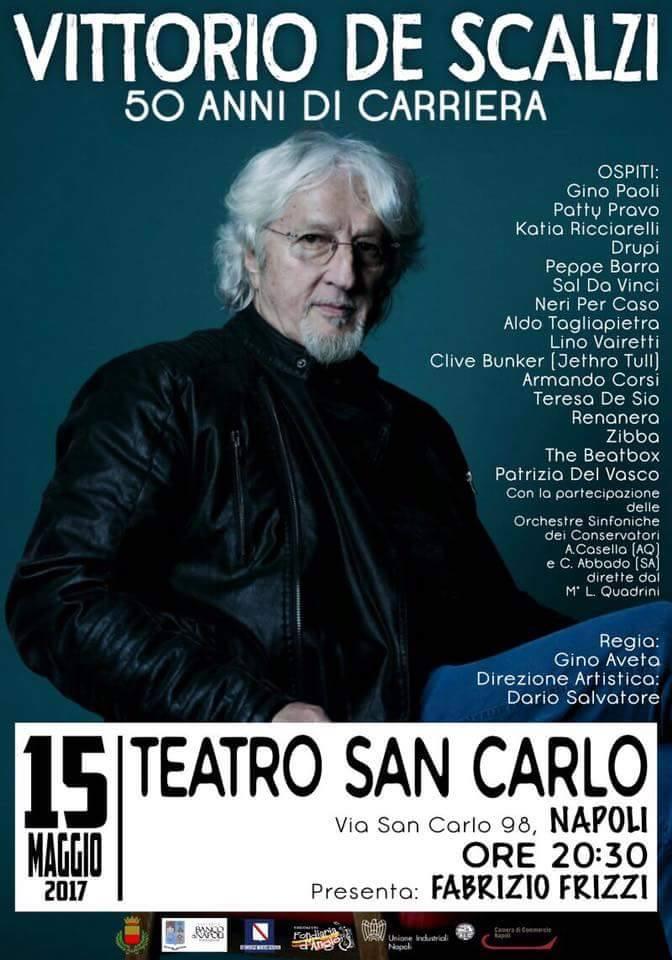 Vittorio Scalzi 50 anni di carriera